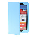 Solid Color PU Leather Full Body Case with Stand for Lenovo S5000 (Assorted Colors)