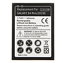 2800mAh Cell phone Battery Black for Samsung Galaxy S4 Mini/i9190 with Charger