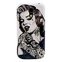 Buy Tattoo Girl Pattern Hard Back Cover Case Samsung Galaxy S4 Mini I9190