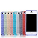 New Brushed Texture TPU Soft Case for iPhone 5/5S (Assorted Colors)