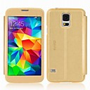 Panoramic Series Leather Case for Samsung Galaxy S5 with Windows view&touch Functional