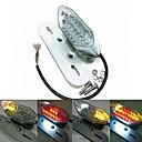 Motos luzes traseiras LED com a lâmpada da matrícula ea função sinal de volta