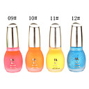 Glow polaco 1PCS Laushine luminoso noctilucentes fluorescente Nail in Dark Eco-Friendly (No.9-12, colores surtidos)
