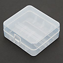 2 Pcs/Lot Hard Plastic Battery Storage Box for 26650 Battery