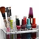 acrylique cosmétiques transparentes support de stockage pinceau de maquillage pot carré organisateur cosmétique