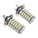 H7 6W 120x3528SMD LED for Headlight Bulb (2pcs)