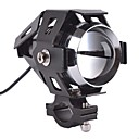 motorsykkel frontlys konvertering motorsykkel LED frontlykter super sterkt lys-sort