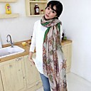 Ms. Women's Korean Cotton And Linen Bali Yarn Scarves