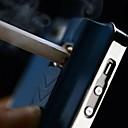 AP-007 Purity Metall Mönster med Ljusare Funktion Back Case för iPhone 4/4S (blandade färger)