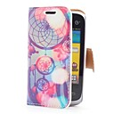 Dream Catcher Style Leather Case with Card Slot and Stand for Samsung Galaxy Y Duos S6102