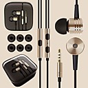 dsd® topp kvalitet legering surroundlyd 3,5 mm in-ear hodetelefoner headset for Andriod-telefoner (assortert farge)