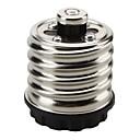 10pcs e40 para e27 adaptador de tomada 5a 220-240v lâmpada