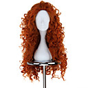 Buy Cosplay Wigs Brave Mavis Orange Medium / Curly Anime 75 CM Heat Resistant Fiber Female