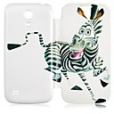 zebrapatroon full body case voor de samsung galaxy s4 mini i9190