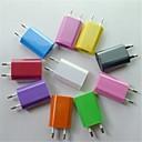 ЕС AC Plug в usb2.0 Adapter Зарядное устройство для iphone 6 на мобильный 6 плюс / Samsung и другие (разных цветов)