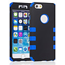 Six Points Pattern Silicone Cover for iPhone 6 Plus(Assorted Colors)