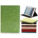 Crocodile Skin Pattern PU Leather Case with Stand for iPad 2/3/4(Assorted Colors)