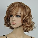 Buy Women's Brown Blonde Mixed Curly Short Wig