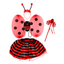 Ladybeetle Suit-dress Halloween Costumes