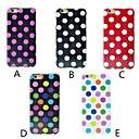 Wave Point Pattern Soft Cover for iPhone 6  (Assorted Colors)