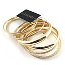 Golden Multilayer Contracted Bracelet