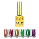 1PCS KELISI Professional Metal UV Color Gel NO.7-12(12ml,Assorted Color)