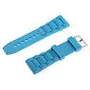 Unisex 26mm Rubber Watch Strap