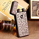 Jobon USB Metal Electronic Ultra-thin Windproof Cigarette Lighter