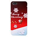 merry christmas mønster pc bak deksel til iphone 5 / 5s