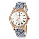 Buy Women's Quartz Vintage PU Band Diamante Case Wrist Watch (Assorted Colors) Cool Watches Unique