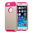 Buy Double Shells Design Golden Back Hard Case TPU Inside iPhone 6 Plus (Assorted Colors)