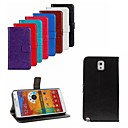 Crazy Horse Leather Wallet Flip Case with Card Holder And Stand Function for Samsung Galaxy Note 3 (Assorted Colors)