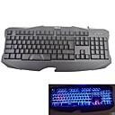 Baodi® G-K08 Bright Blue&Red Light Wired Gaming Keyboard
