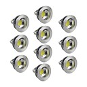 Spot LED Gradable Blanc Chaud / Blanc Froid / Blanc Naturel 10 pièces GU5.3(MR16) 5W 1 COB 400-450 LM DC 12 V
