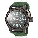 Buy JUBAOLI® Men's Black Dial Fabric Band Quartz Wrist Watch (Assorted Colors) Cool Unique Fashion