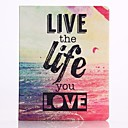 Life Pattern PU Leather Full Body Case for iPad 2/3/4