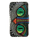 Kinston Special Shining Eye Monster Pattern PU Leather Full Body Case with Stand for Samsung Galaxy S5 I9600