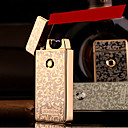 jobon의 USB 금속 전자 울트라 얇은 방풍 라이터