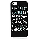 Always Black Pattern Hard Case for iPhone 5/5S