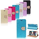 Luxury Bling Glitter Wallet Flip Leather Case Cover for iPhone 6 Plus (Assorted Colors)