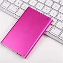 6000mAh Ultrathin Polymer Portable Extermal Battery for Iphone 6/5/5S Samsung S4/S5/Note2 and others