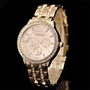 Buy Women's Fashion Diamond Steel Watch Circular Japanese Movement(Assorted Colors) Cool Watches Unique