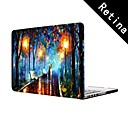 Oil Painting Lovers in the Rain Design  Full-Body Protective Plastic Case for 13
