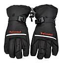 hiver chauds complets des gants doigt de ski pour les hommes en noir (paire / taille libre)