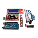 3D-printer controller ramper 1.4 + mega2560 R3 + 5 x a4988 + 2004lcd controller board for 3D-printer