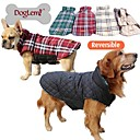 Dog Coats-XS/S/M/L/XL/XXL/XXXL-Winter-Red/Blue/Brown/Beige-Fashion/Plaid