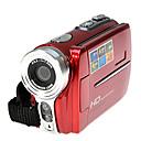 의 HD 720p의 5MP 16 배 줌 디지털 비디오 카메라 캠코더 DV 레드