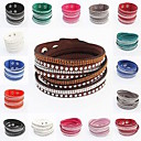European Trendy All-match Wrap Bracelet(1pc)