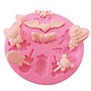 kake dekorert lollipop kjærlighet hjerte godteri silikon fondant mold for håndverk smykker sjokolade PMC harpiks leire
