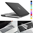 Hat-Prince Matte Hard Protective PC Full Body Case and Keyboard Film for MacBook Pro 13.3